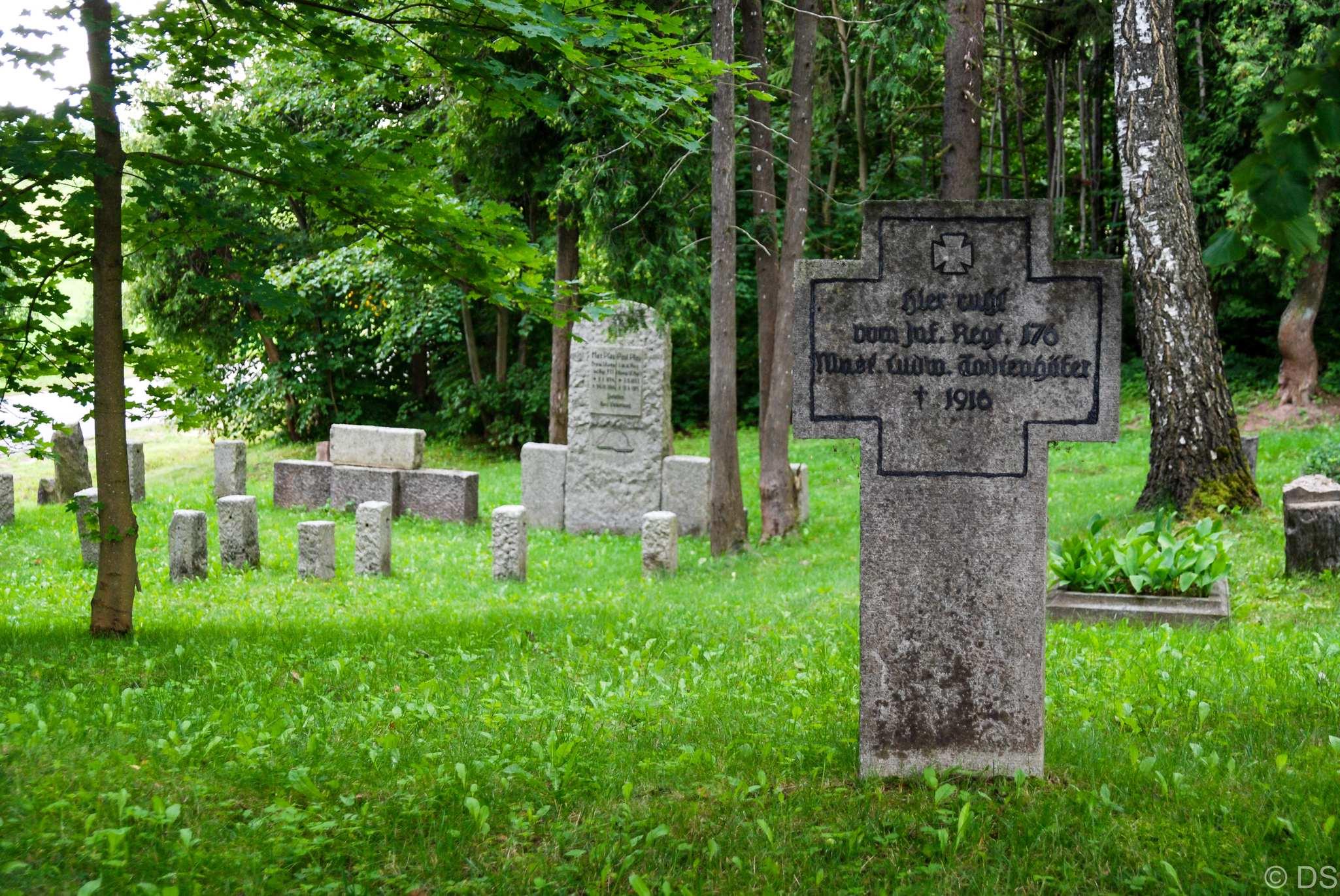 Cmentarz Dubeninki - wschód