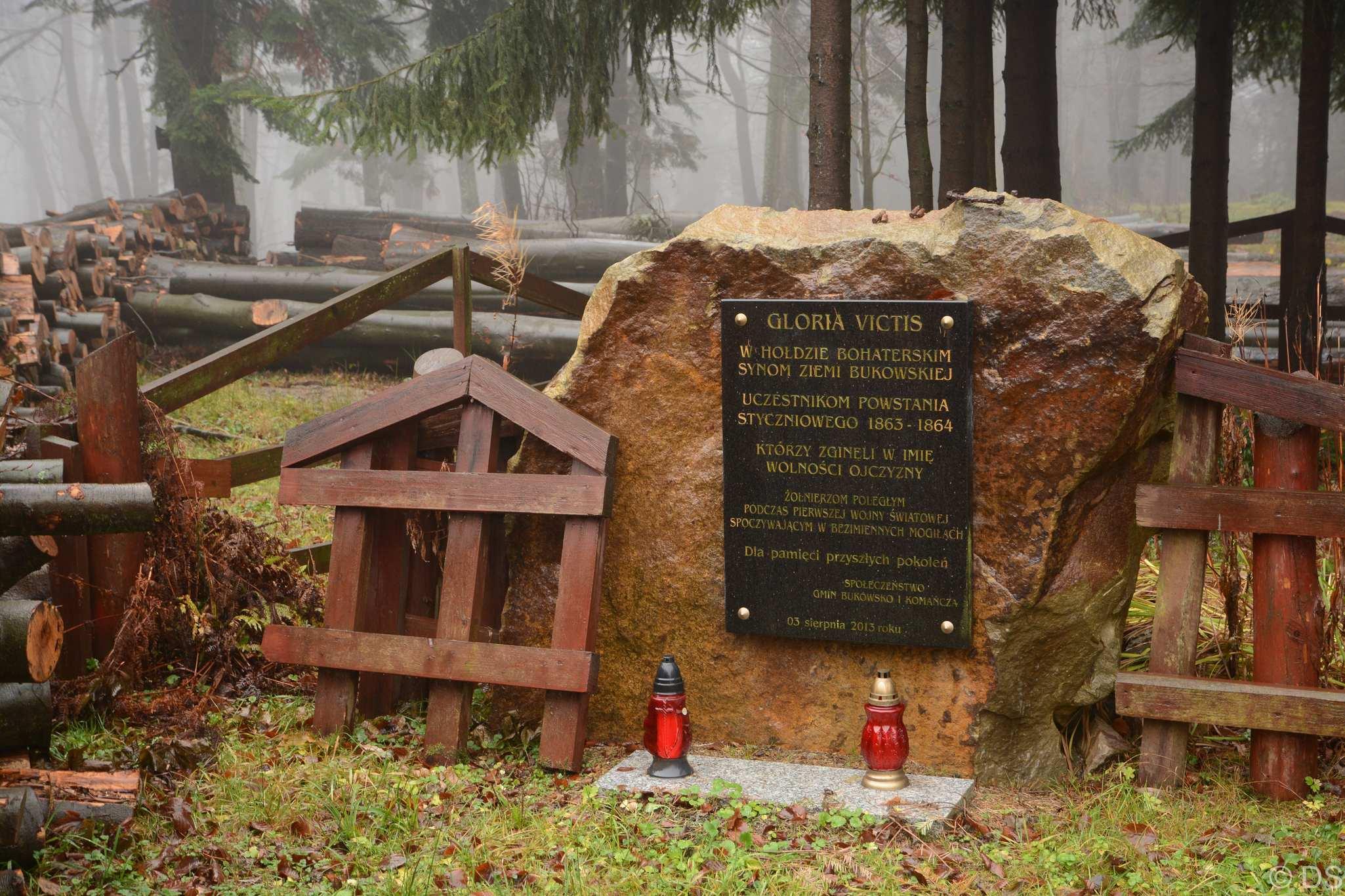Cmentarz w paśmie Bukowicy